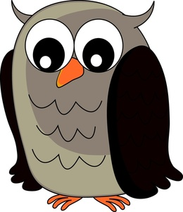 260x300 Owl Clipart Image