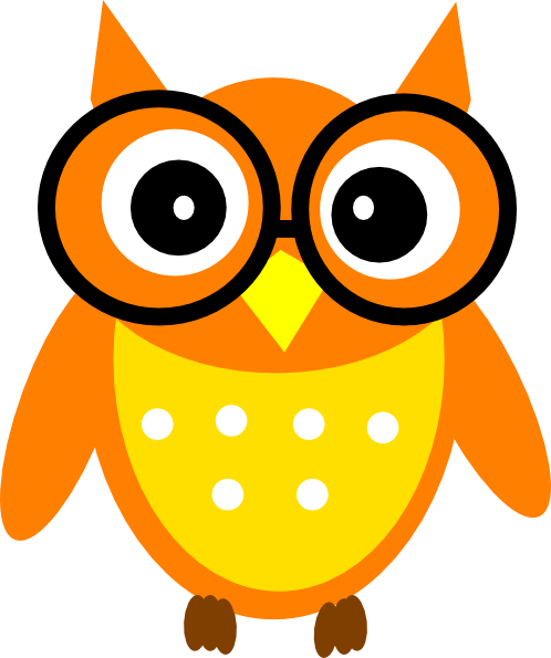 498x595 Animated Owl Clipart