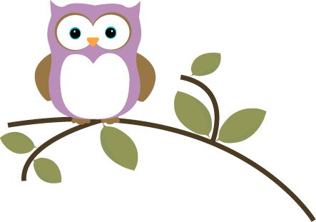 443x311 Cute Owl Clip Art