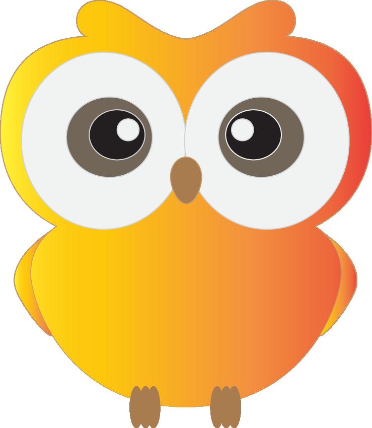 739x850 Owls On Owl Clip Art And Cartoon Owls 2 Clipartcow 4