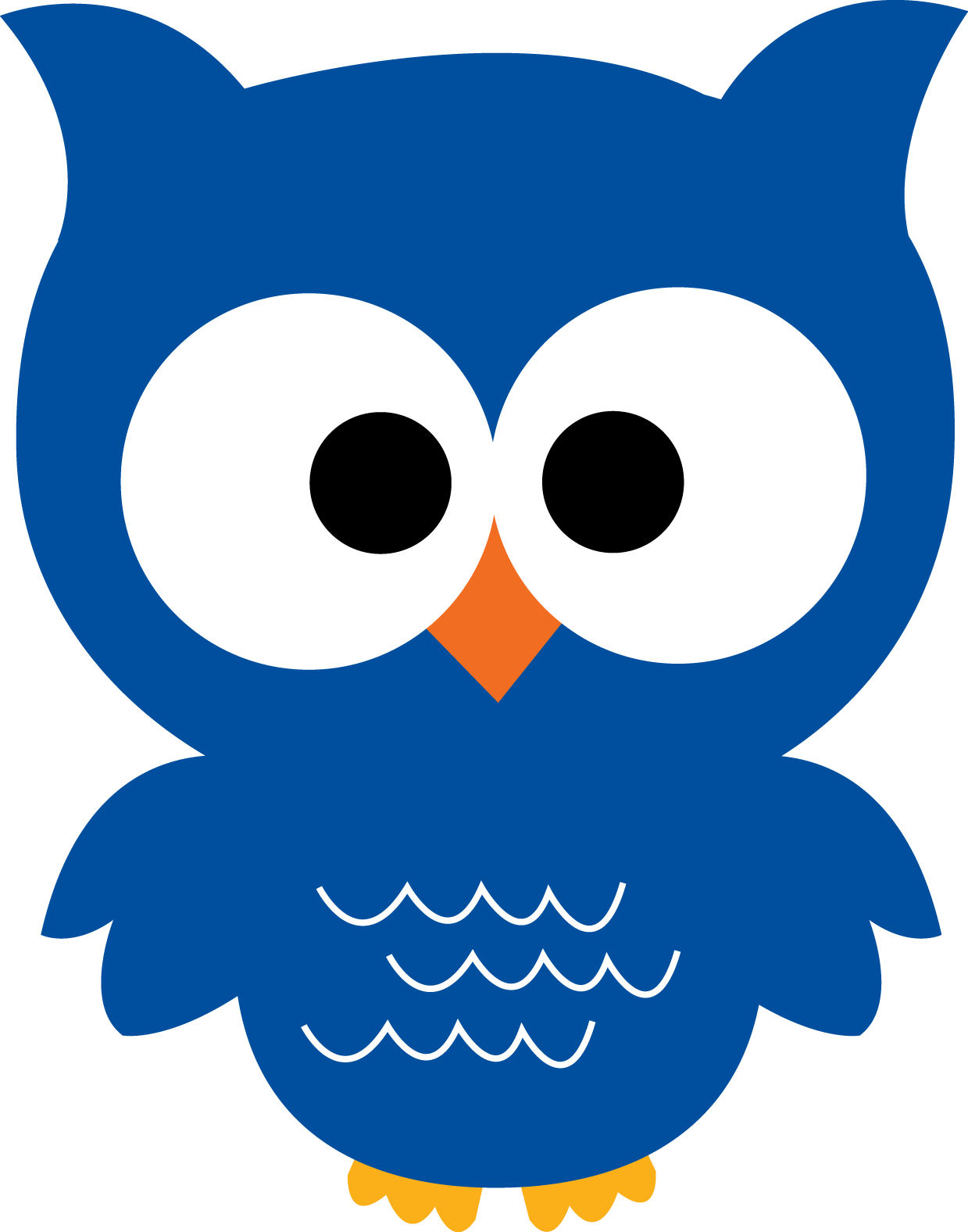 1239x1576 Owl Blue Png
