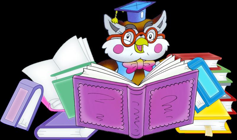 800x474 Best Owl Reading Clipart