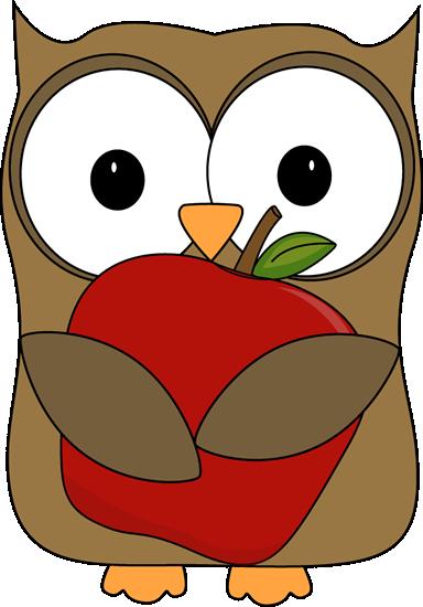 384x550 Clip Art Owl Eating Clipart