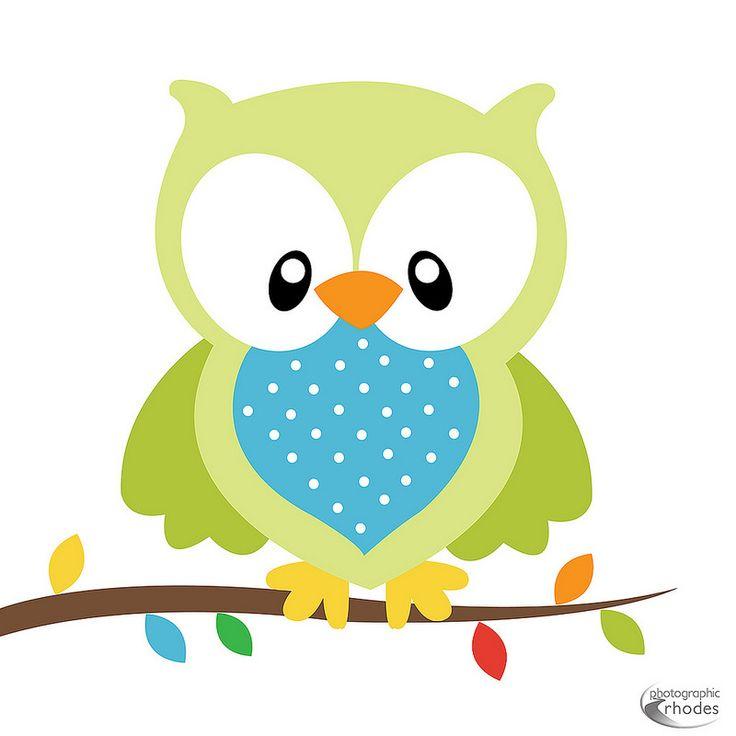 736x736 Light Blue Clipart Owl