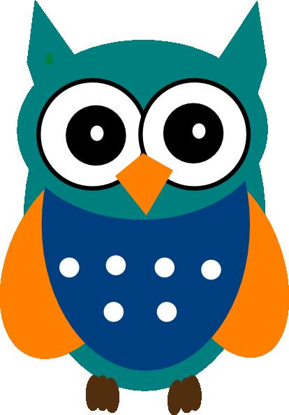 414x594 Owl Clipart