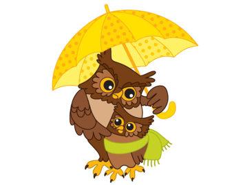 340x270 Owl Clip Art Etsy