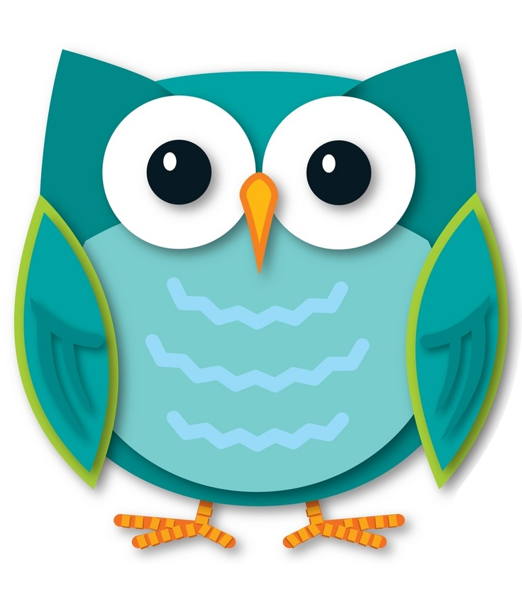 736x841 Owl Clipart Colorful