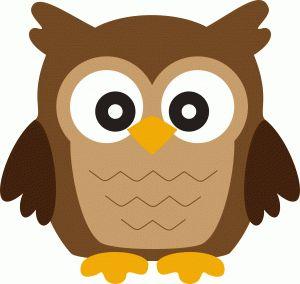 300x284 Owl Clipart Shape