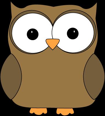 362x399 Owl Clip Art