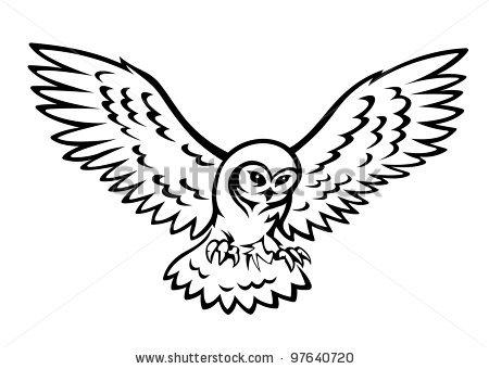 450x340 Owl Clip Art Fly Cliparts