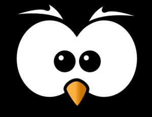 300x231 Owl Face Clip Art