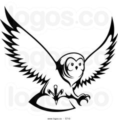 236x240 Owl Silhouette Template Owl Clip Art Black And White Fall