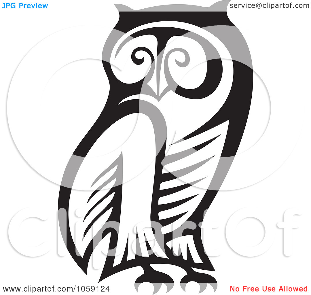 1080x1024 Baby Owl Clipart Black And White Clipart Panda
