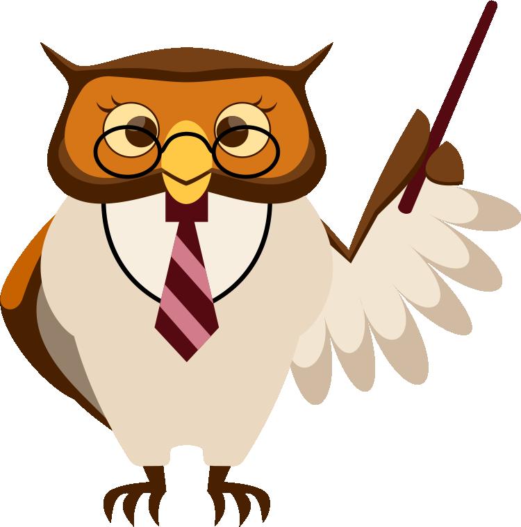 750x759 Smart Owl Clip Art 4