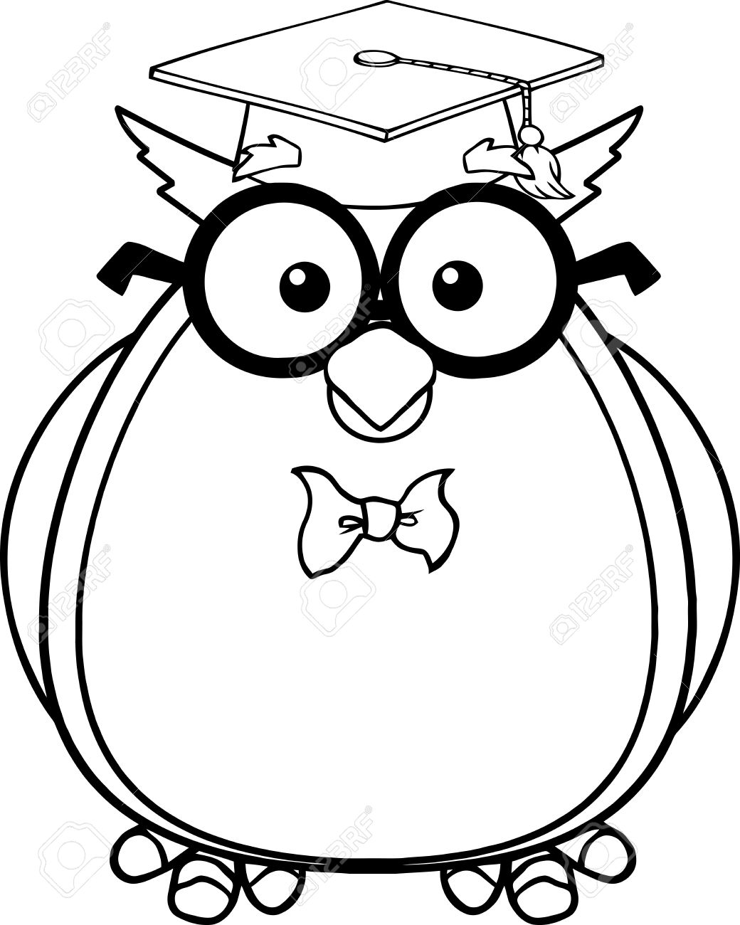 Owl Clipart Black And White | Free download on ClipArtMag