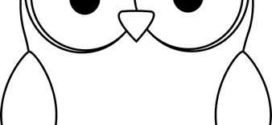 272x125 Owl Clipart Black And White Clipart Panda