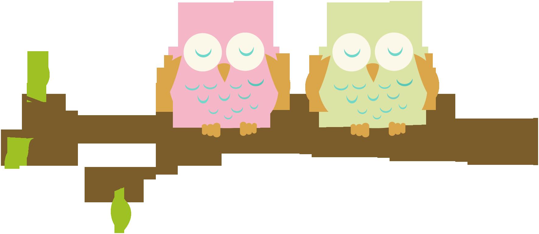 1771x768 Owl Clip Art Pink Clipart Panda