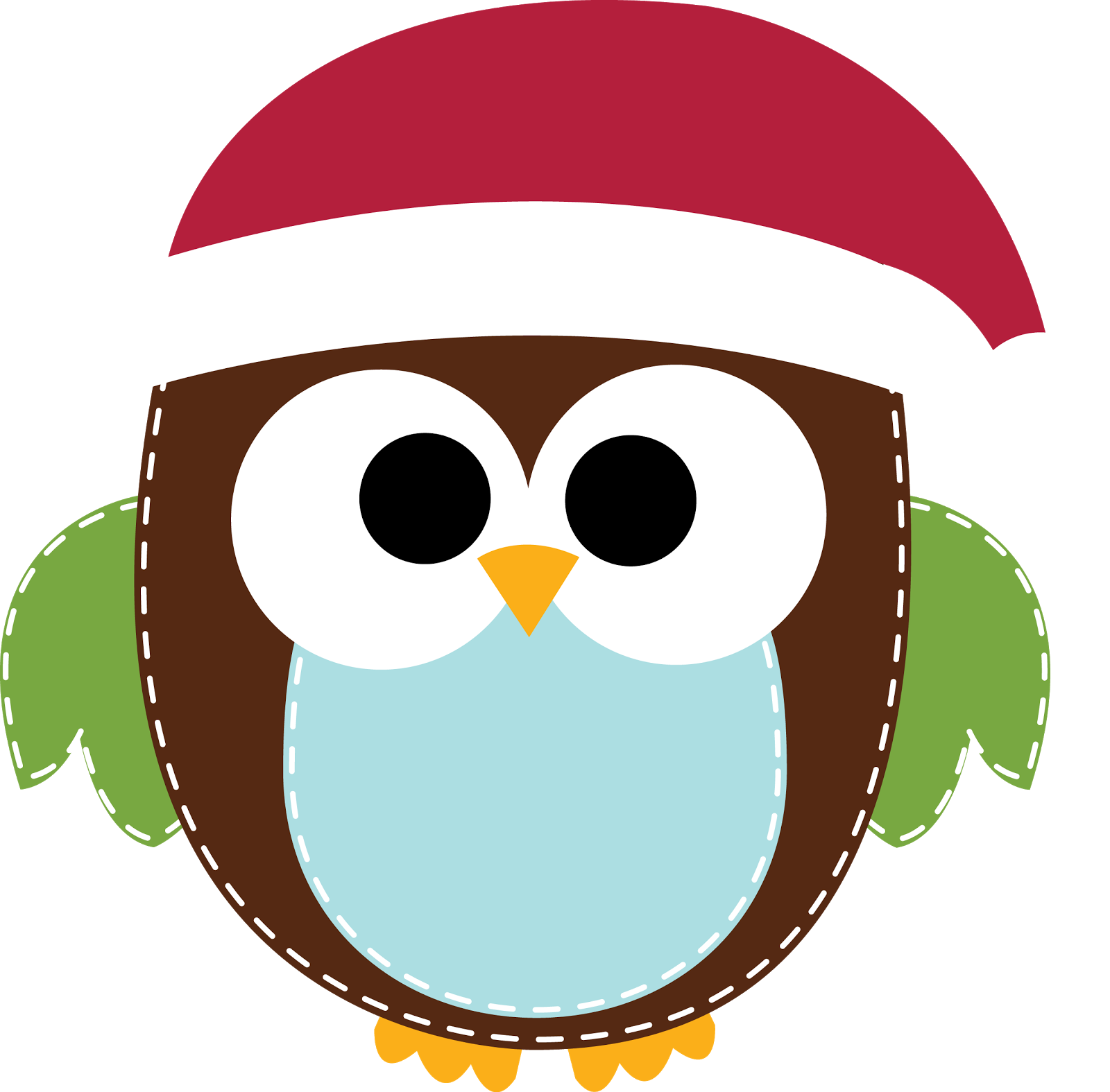 1600x1575 Cute Christmas Owl Clipart Kid