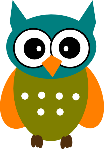 414x594 Free Clipart Of An Owl