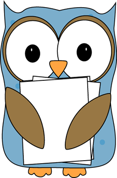 Owl classroom. Clipart for teachers free