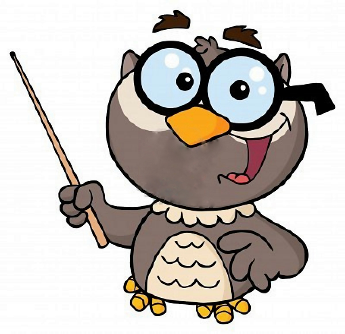 1200x1161 Owl Teacher Clipart