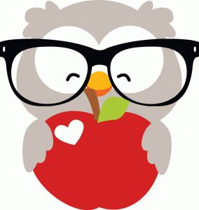 284x300 Apple Clipart Owl