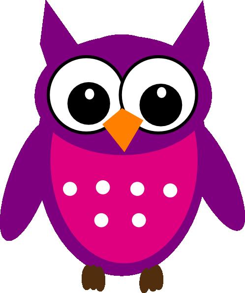 498x595 Cute Owl Clip Art