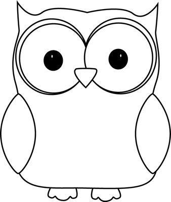338x400 Owl Clip Art