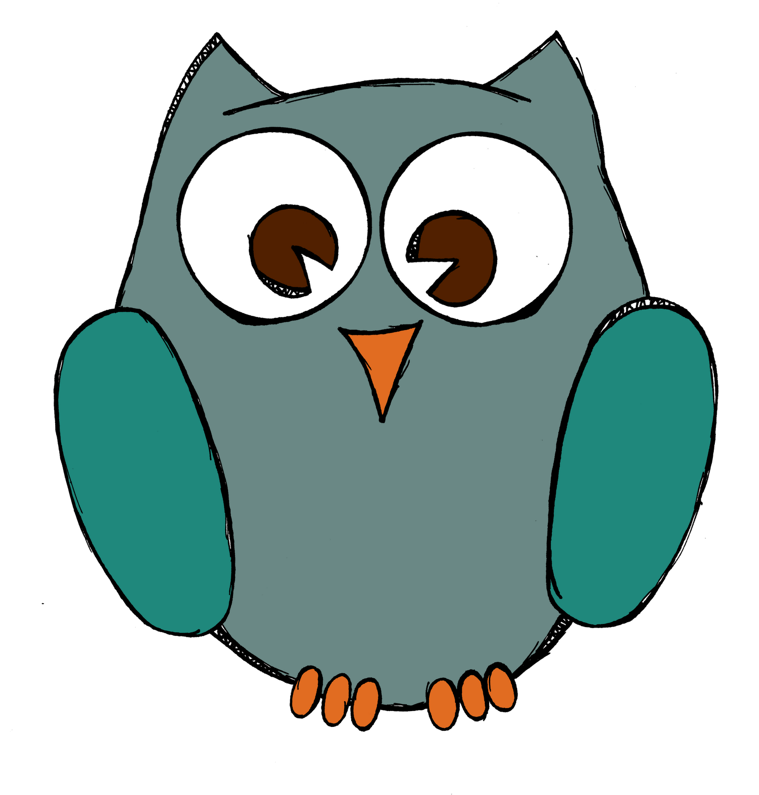 1528x1600 Best Owl Clipart