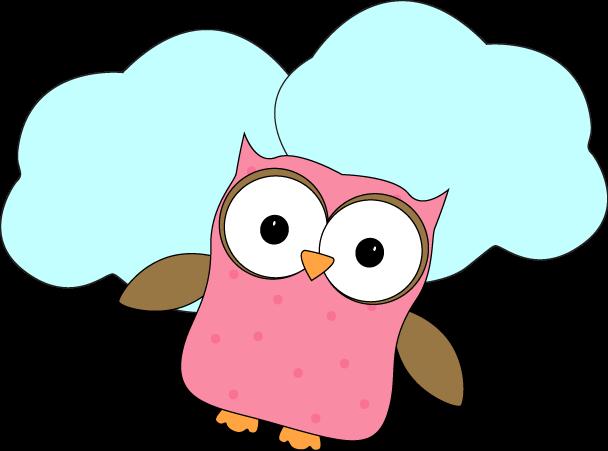 608x451 Owl Clip Art