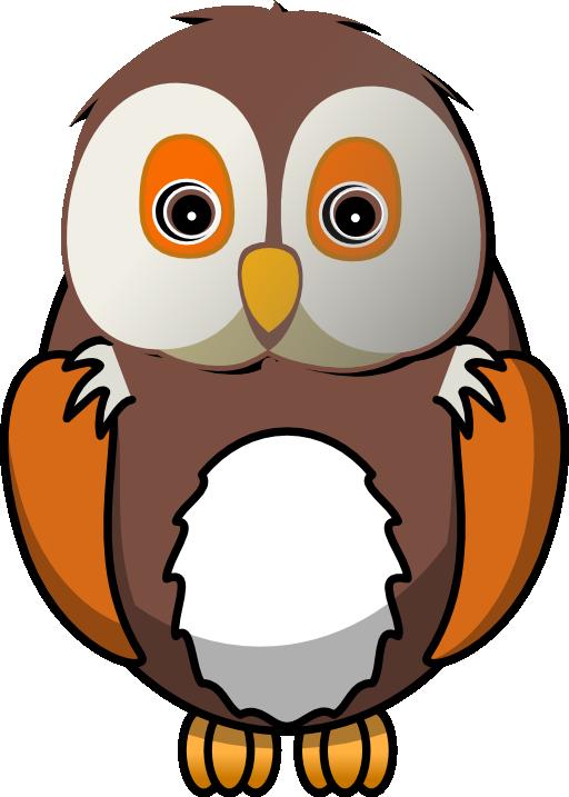 512x717 Owl Clip Art Border Free Clipart Images