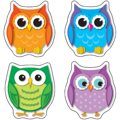 400x400 Owl Clipart Colorful