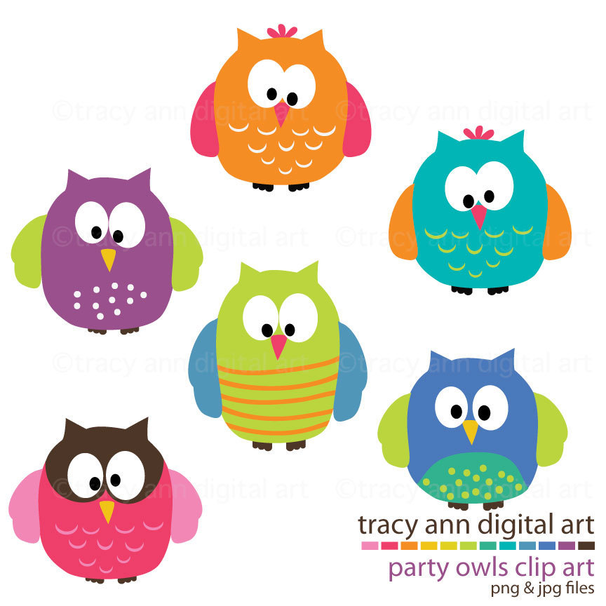 864x864 Owl Clipart Vintage