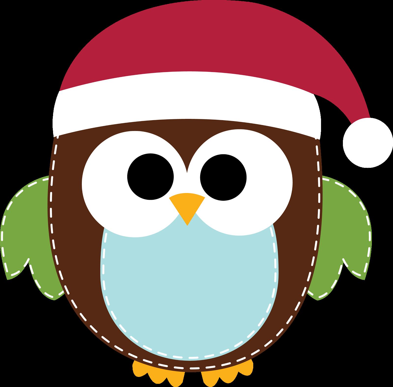 1600x1575 Christmas Owl Clip Art
