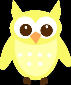 249x298 Light Yellow Owl Clip Art