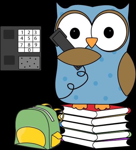 437x481 Owl Clip Art