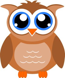 280x334 Owl Clipart Transparent Background