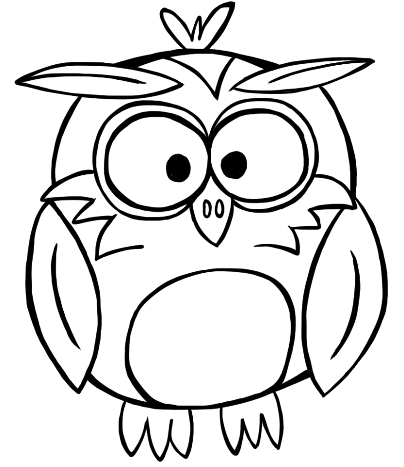 830x959 Best Owl Clipart Black And White