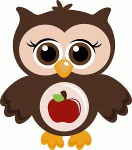 Owl Graduation Clipart
