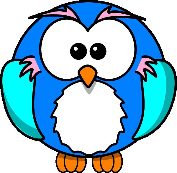 600x585 Cute Owl On Branch Clip Art