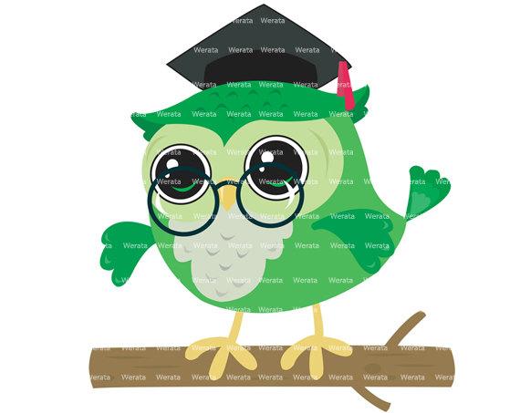 570x453 Graduation Owl Clip Art