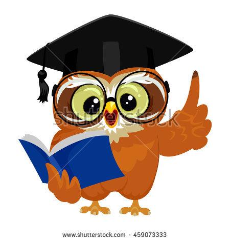 450x470 Owlet Clipart Graduation