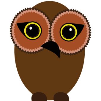 340x340 Owl Clip Art Vectors Download Free Vector Art Amp Graphics