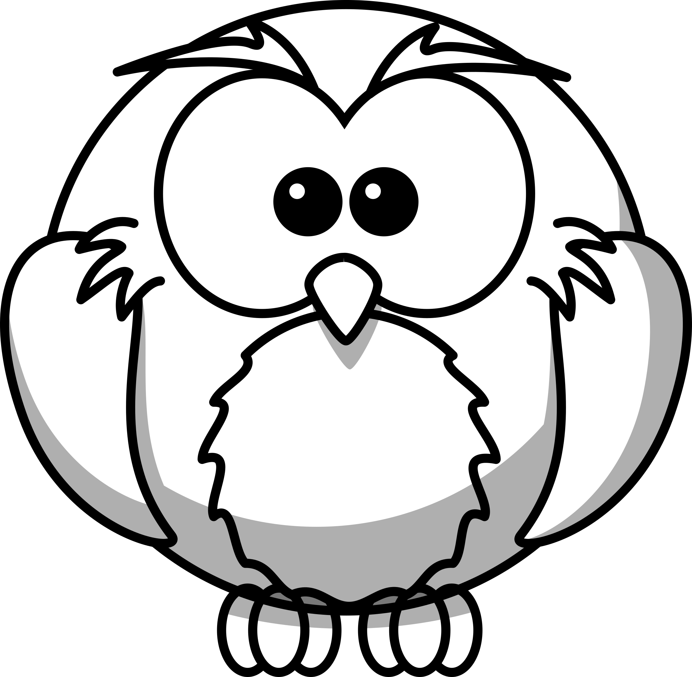 Owl Outline Free download best Owl Outline on ClipArtMagcom