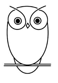 222x320 23 Best Simple Owl Outline Tattoo Images Design
