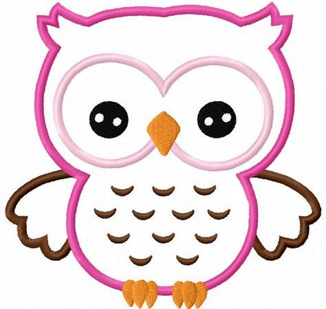 Owl Outline Clipart