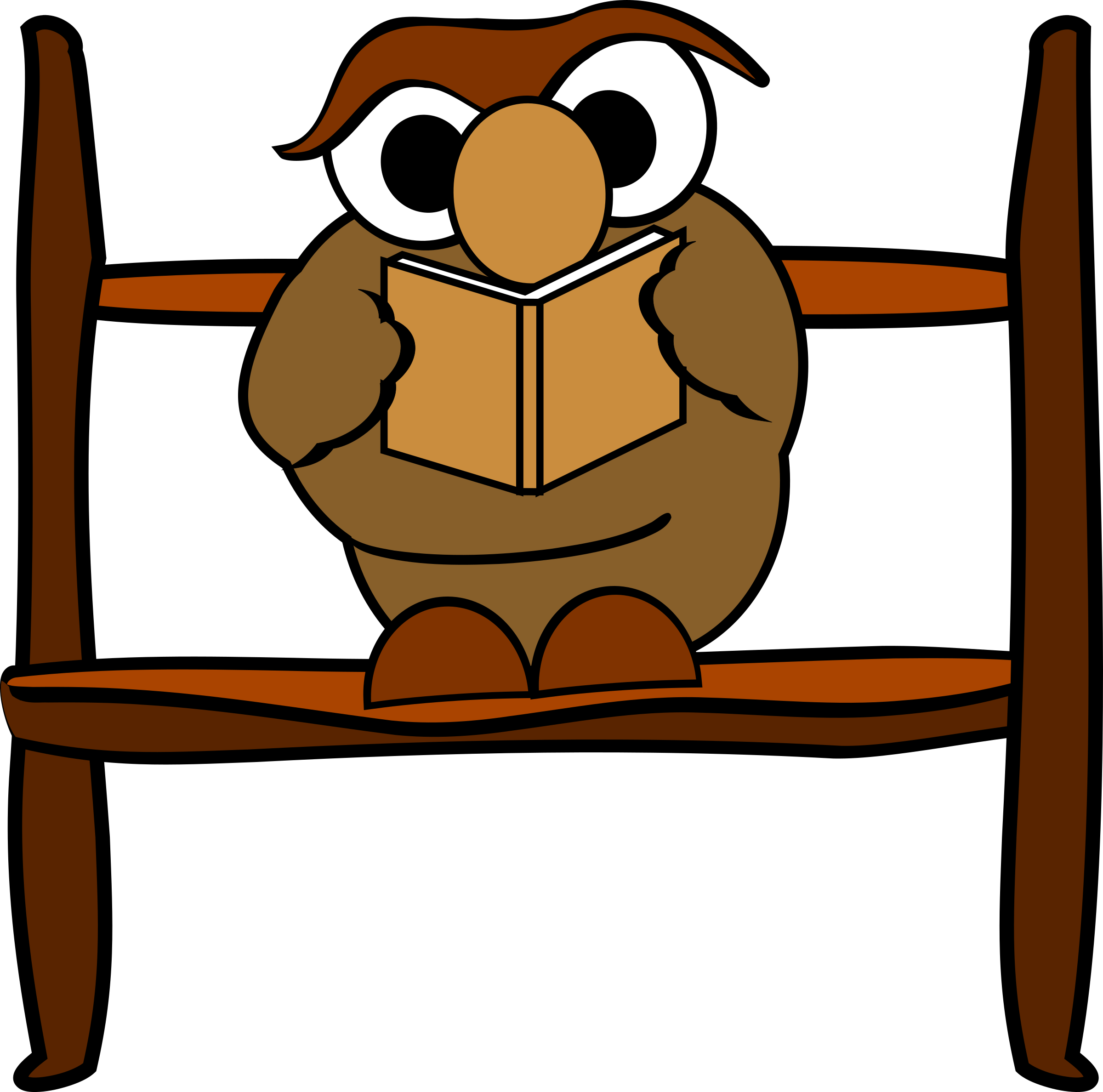 Owl Reading Book Clipart   Free download on ClipArtMag