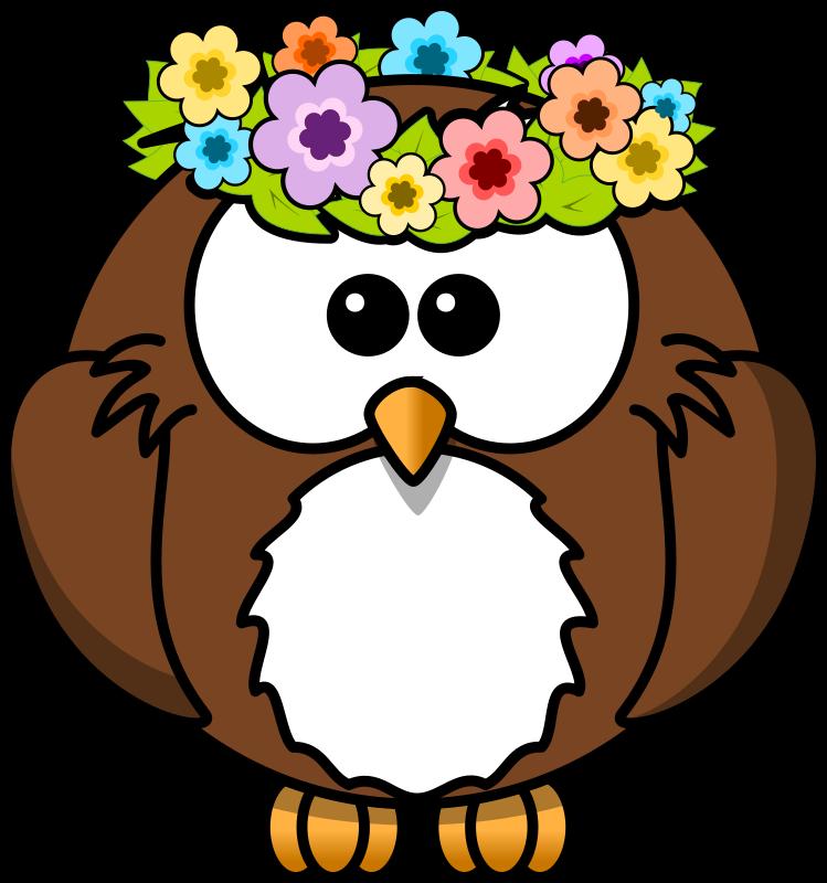 749x800 Free Girly Owl Clip Art