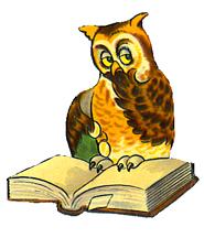 185x216 Owl Clip Art
