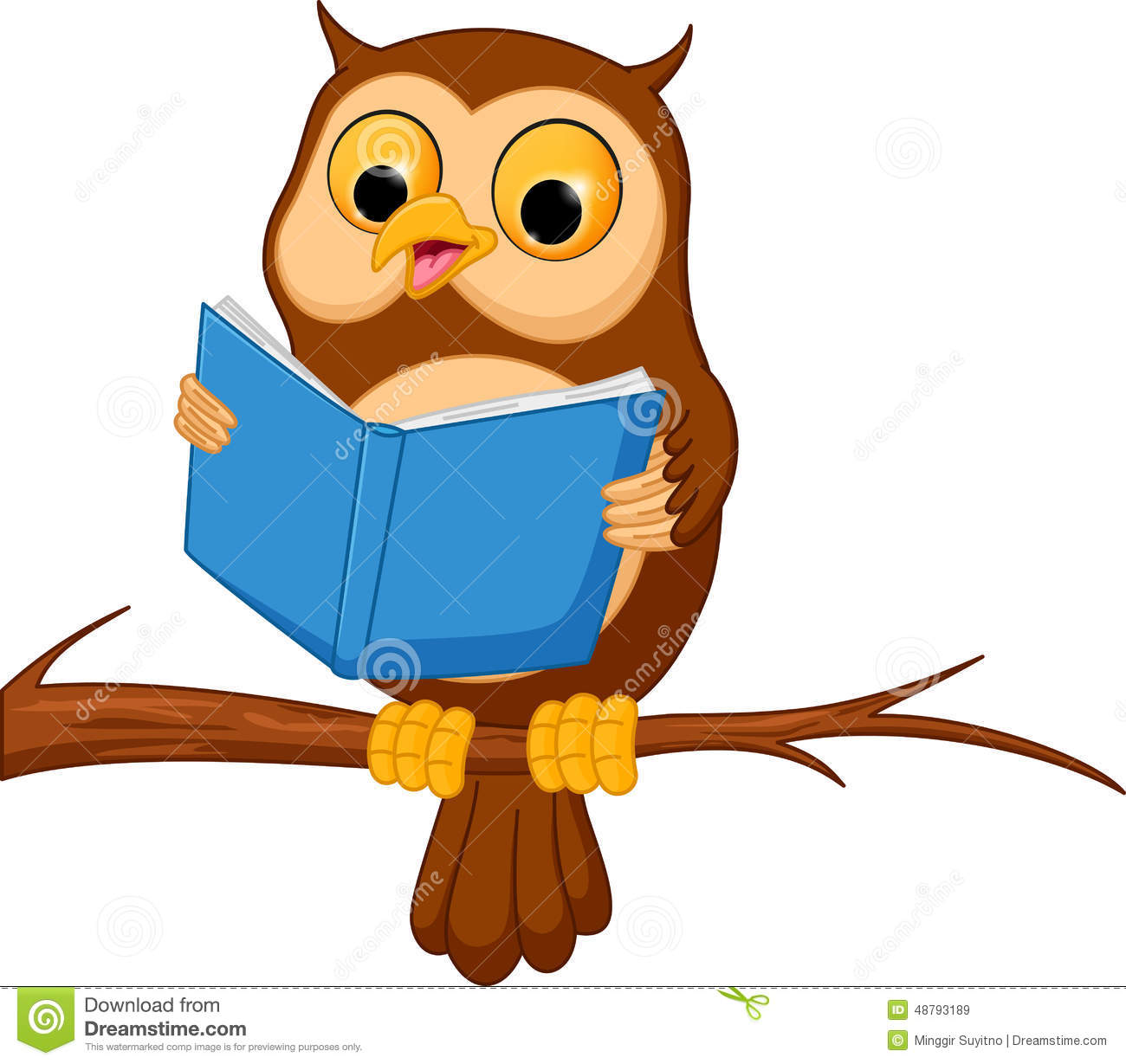 1300x1229 Owl Reading Book Clipart